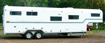 3 Horse Gooseneck horse float trailer